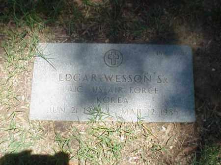 WESSON, SR (VETERAN KOR), EDGAR - Pulaski County, Arkansas | EDGAR WESSON, SR (VETERAN KOR) - Arkansas Gravestone Photos