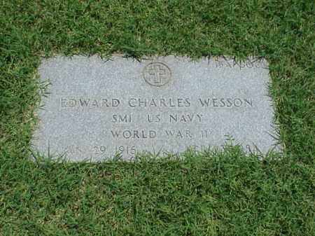 WESSON (VETERAN WWII), EDWARD CHARLES - Pulaski County, Arkansas | EDWARD CHARLES WESSON (VETERAN WWII) - Arkansas Gravestone Photos