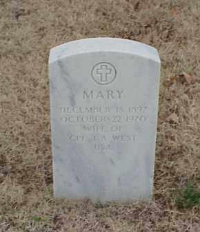WEST, MARY - Pulaski County, Arkansas | MARY WEST - Arkansas Gravestone Photos