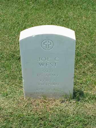 WEST (VETERAN 2 WARS), JOE C - Pulaski County, Arkansas | JOE C WEST (VETERAN 2 WARS) - Arkansas Gravestone Photos
