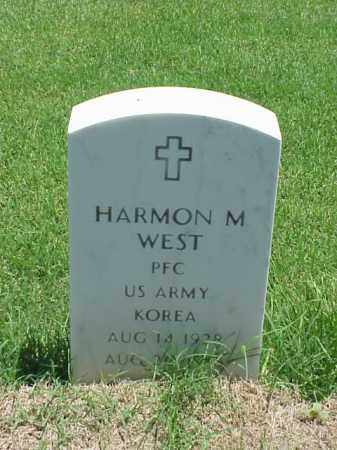 WEST (VETERAN KOR), HARMON M - Pulaski County, Arkansas | HARMON M WEST (VETERAN KOR) - Arkansas Gravestone Photos