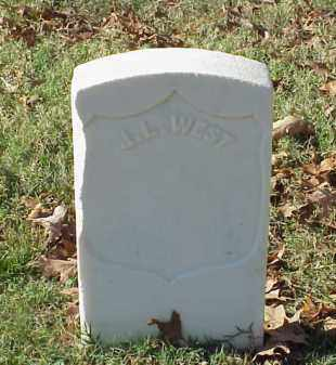 WEST (VETERAN UNION), J L - Pulaski County, Arkansas | J L WEST (VETERAN UNION) - Arkansas Gravestone Photos