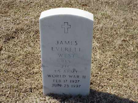 WEST (VETERAN WWII), JAMES EVERETT - Pulaski County, Arkansas | JAMES EVERETT WEST (VETERAN WWII) - Arkansas Gravestone Photos