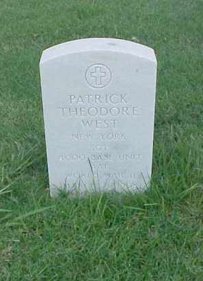 WEST (VETERAN WWII), PATRICK THEODORE - Pulaski County, Arkansas | PATRICK THEODORE WEST (VETERAN WWII) - Arkansas Gravestone Photos