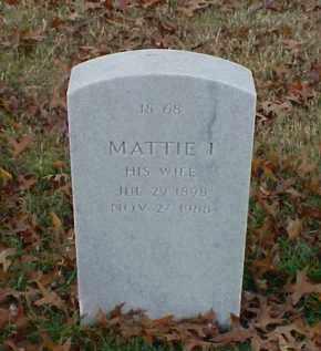 WESTBROOK, MATTIE I - Pulaski County, Arkansas | MATTIE I WESTBROOK - Arkansas Gravestone Photos