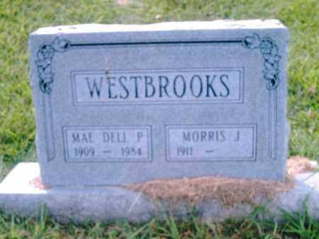 WESTBROOK, MAE  DELL P. - Pulaski County, Arkansas | MAE  DELL P. WESTBROOK - Arkansas Gravestone Photos