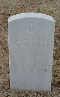 WESTBROOK, SR  (VETERAN WWII, RAYMOND W - Pulaski County, Arkansas | RAYMOND W WESTBROOK, SR  (VETERAN WWII - Arkansas Gravestone Photos