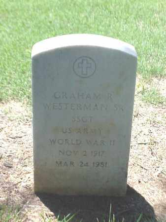 WESTERMAN, SR (VETERAN WWII), GRAHAM R - Pulaski County, Arkansas | GRAHAM R WESTERMAN, SR (VETERAN WWII) - Arkansas Gravestone Photos