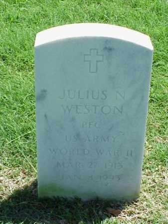 WESTON (VETERAN WWII), JULIUS N - Pulaski County, Arkansas | JULIUS N WESTON (VETERAN WWII) - Arkansas Gravestone Photos