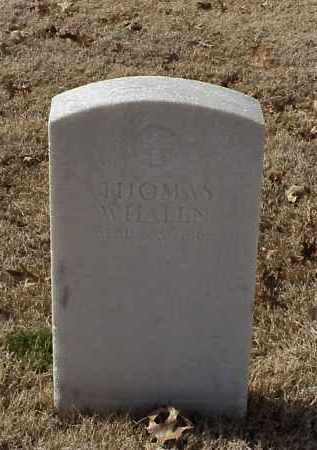 WHALEN (VETERAN UNION), THOMAS - Pulaski County, Arkansas | THOMAS WHALEN (VETERAN UNION) - Arkansas Gravestone Photos