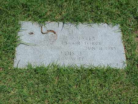 WHALEY (VETERAN 2 WARS), ROY H - Pulaski County, Arkansas | ROY H WHALEY (VETERAN 2 WARS) - Arkansas Gravestone Photos