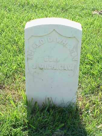 WHEATON (VETERAN UNION), ALFRED D - Pulaski County, Arkansas | ALFRED D WHEATON (VETERAN UNION) - Arkansas Gravestone Photos