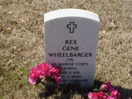 WHEELBARGER  (VETERAN KOR), REX GENE - Pulaski County, Arkansas | REX GENE WHEELBARGER  (VETERAN KOR) - Arkansas Gravestone Photos