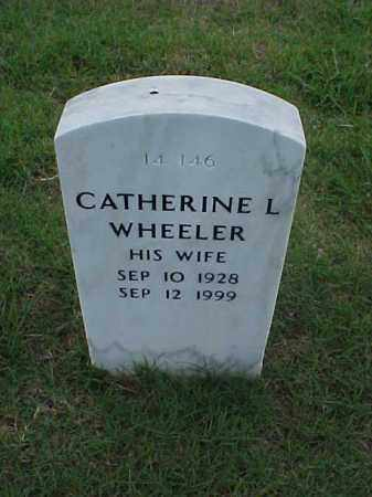 WHEELER, CATHERINE L - Pulaski County, Arkansas | CATHERINE L WHEELER - Arkansas Gravestone Photos
