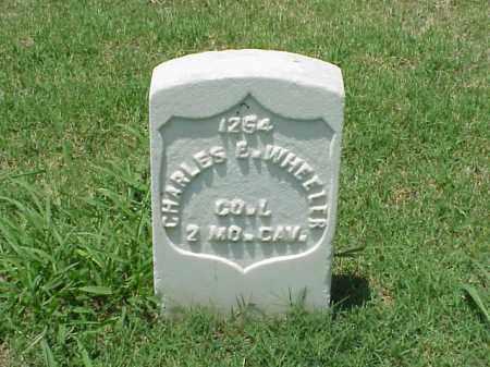 WHEELER (VETERAN UNION), CHARLES E - Pulaski County, Arkansas | CHARLES E WHEELER (VETERAN UNION) - Arkansas Gravestone Photos