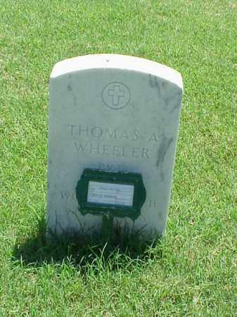 WHEELER (VETERAN WWII), THOMAS A - Pulaski County, Arkansas | THOMAS A WHEELER (VETERAN WWII) - Arkansas Gravestone Photos