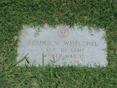 WHELCHEL (VETERAN WWII), YOUNG W - Pulaski County, Arkansas | YOUNG W WHELCHEL (VETERAN WWII) - Arkansas Gravestone Photos