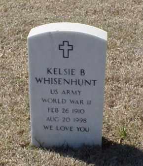 WHISENHUNT (VETERAN WWII), KELSIE B - Pulaski County, Arkansas | KELSIE B WHISENHUNT (VETERAN WWII) - Arkansas Gravestone Photos