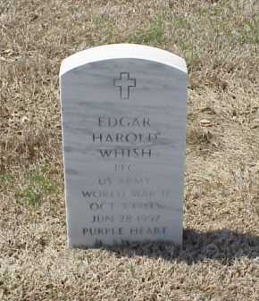 WHISH (VETERAN WWII), EDGAR HAROLD - Pulaski County, Arkansas | EDGAR HAROLD WHISH (VETERAN WWII) - Arkansas Gravestone Photos