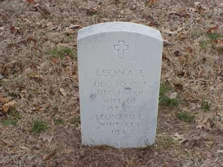 WHITAKER, LEONA E - Pulaski County, Arkansas | LEONA E WHITAKER - Arkansas Gravestone Photos