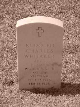 WHITAKER (VETERAN 3 WARS), RUDOLPH CHARLES - Pulaski County, Arkansas | RUDOLPH CHARLES WHITAKER (VETERAN 3 WARS) - Arkansas Gravestone Photos