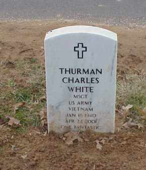 WHITE  (VETERAN VIET), THURMAN CHARLES - Pulaski County, Arkansas | THURMAN CHARLES WHITE  (VETERAN VIET) - Arkansas Gravestone Photos