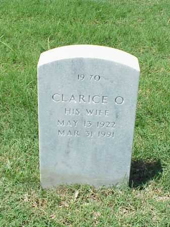 WHITE, CLARICE O. - Pulaski County, Arkansas | CLARICE O. WHITE - Arkansas Gravestone Photos