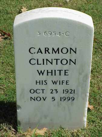 CLINTON WHITE, CARMON - Pulaski County, Arkansas | CARMON CLINTON WHITE - Arkansas Gravestone Photos