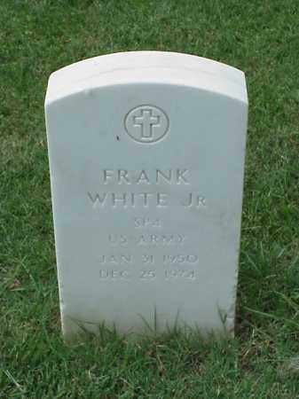 WHITE, JR (VETERAN VIET), FRANK - Pulaski County, Arkansas | FRANK WHITE, JR (VETERAN VIET) - Arkansas Gravestone Photos