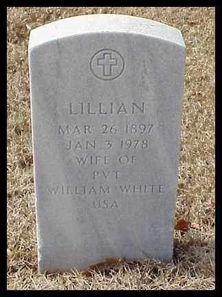 WHITE, LILLIAN - Pulaski County, Arkansas | LILLIAN WHITE - Arkansas Gravestone Photos