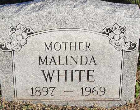 WHITE, MALINDA - Pulaski County, Arkansas | MALINDA WHITE - Arkansas Gravestone Photos
