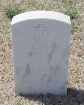 WHITE (VETERAN), FRANK - Pulaski County, Arkansas | FRANK WHITE (VETERAN) - Arkansas Gravestone Photos