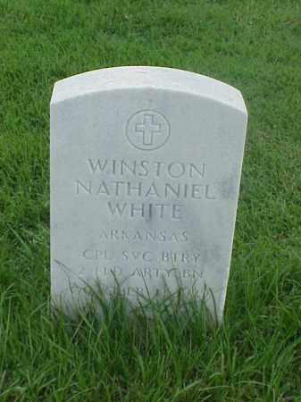 WHITE (VETERAN KOR), WINSTON NATHANIEL - Pulaski County, Arkansas | WINSTON NATHANIEL WHITE (VETERAN KOR) - Arkansas Gravestone Photos