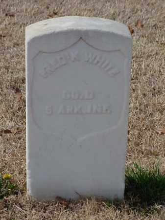 WHITE (VETERAN UNION), FREDRICK - Pulaski County, Arkansas | FREDRICK WHITE (VETERAN UNION) - Arkansas Gravestone Photos
