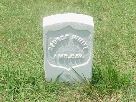 WHITE (VETERAN UNION), GEORGE - Pulaski County, Arkansas | GEORGE WHITE (VETERAN UNION) - Arkansas Gravestone Photos