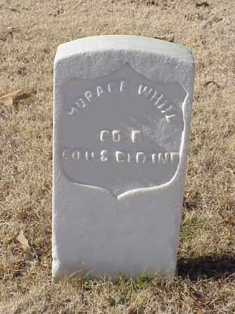 WHITE (VETERAN UNION), HORACE - Pulaski County, Arkansas | HORACE WHITE (VETERAN UNION) - Arkansas Gravestone Photos