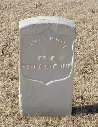 WHITE (VETERAN UNION), JAMES - Pulaski County, Arkansas | JAMES WHITE (VETERAN UNION) - Arkansas Gravestone Photos