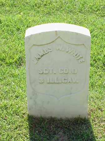 WHITE (VETERAN UNION), JAMES W - Pulaski County, Arkansas | JAMES W WHITE (VETERAN UNION) - Arkansas Gravestone Photos