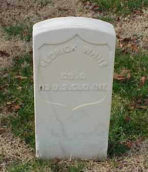 WHITE (VETERAN UNION), REDRICK - Pulaski County, Arkansas | REDRICK WHITE (VETERAN UNION) - Arkansas Gravestone Photos