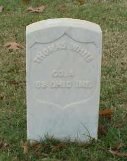 WHITE (VETERAN UNION), THOMAS - Pulaski County, Arkansas | THOMAS WHITE (VETERAN UNION) - Arkansas Gravestone Photos