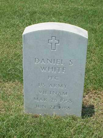 WHITE (VETERAN VIET), DANIEL S - Pulaski County, Arkansas | DANIEL S WHITE (VETERAN VIET) - Arkansas Gravestone Photos