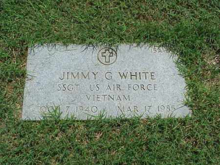WHITE (VETERAN VIET), JIMMY G - Pulaski County, Arkansas | JIMMY G WHITE (VETERAN VIET) - Arkansas Gravestone Photos