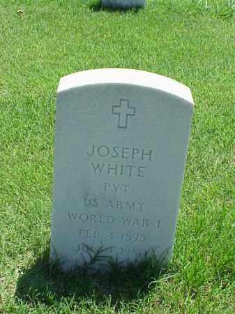 WHITE (VETERAN WWI), JOSEPH - Pulaski County, Arkansas | JOSEPH WHITE (VETERAN WWI) - Arkansas Gravestone Photos