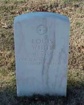 WHITE (VETERAN WWI), LOUIS - Pulaski County, Arkansas | LOUIS WHITE (VETERAN WWI) - Arkansas Gravestone Photos
