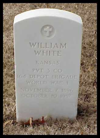 WHITE (VETERAN WWI), WILLIAM - Pulaski County, Arkansas | WILLIAM WHITE (VETERAN WWI) - Arkansas Gravestone Photos