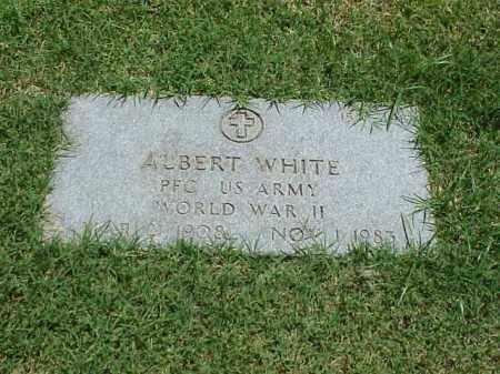 WHITE (VETERAN WWII), ALBERT - Pulaski County, Arkansas | ALBERT WHITE (VETERAN WWII) - Arkansas Gravestone Photos