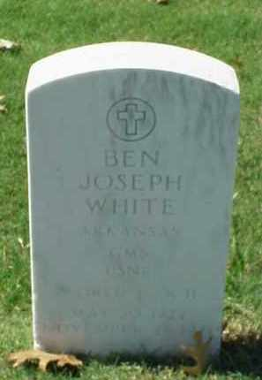 WHITE (VETERAN WWII), BEN JOSEPH - Pulaski County, Arkansas | BEN JOSEPH WHITE (VETERAN WWII) - Arkansas Gravestone Photos