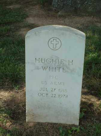 WHITE (VETERAN WWII), HUGHIE H - Pulaski County, Arkansas | HUGHIE H WHITE (VETERAN WWII) - Arkansas Gravestone Photos