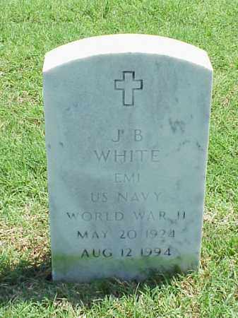 WHITE (VETERAN WWII), J B - Pulaski County, Arkansas | J B WHITE (VETERAN WWII) - Arkansas Gravestone Photos