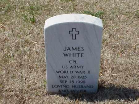 WHITE (VETERAN WWII), JAMES - Pulaski County, Arkansas | JAMES WHITE (VETERAN WWII) - Arkansas Gravestone Photos